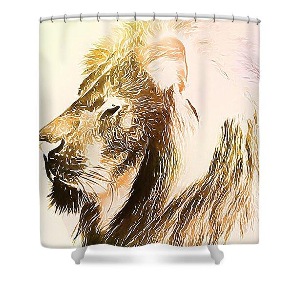Lion Lamb Shower Curtains For Sale