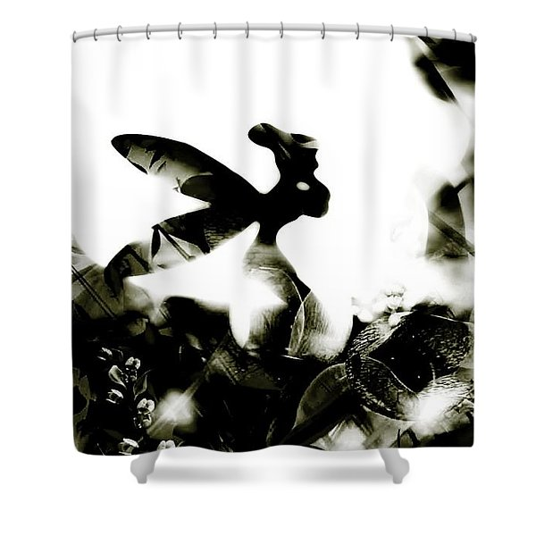 Tinker Bell Shower Curtain by Jessica Shelton