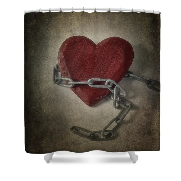 Unchain My Heart Shower Curtain by Joana Kruse