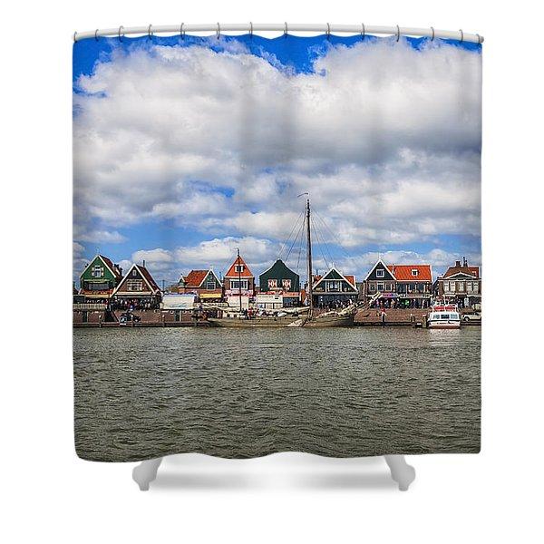 Volendam Shower Curtain by Joana Kruse