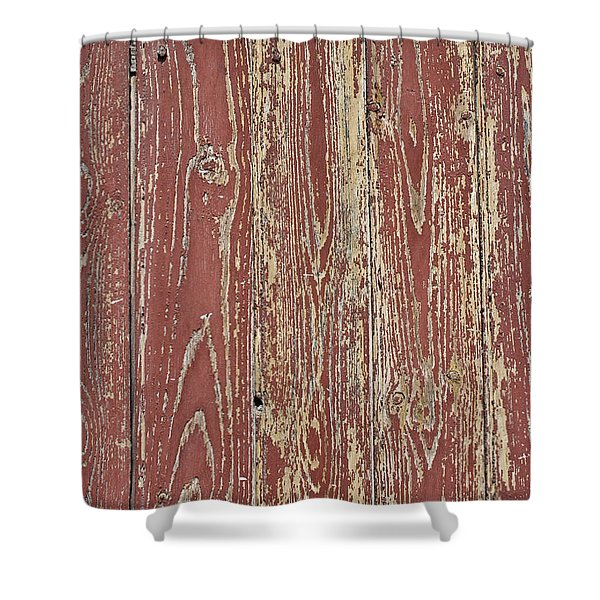 Weathered and Worn Shower Curtain by Nomad Art And  Design