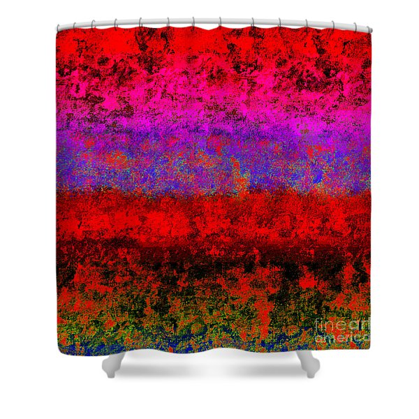 1423 Abstract Thought Shower Curtain by Chowdary V Arikatla