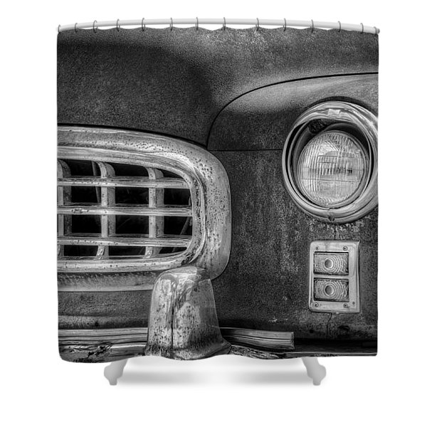 1950 Nash Statesman Shower Curtain by Scott Norris