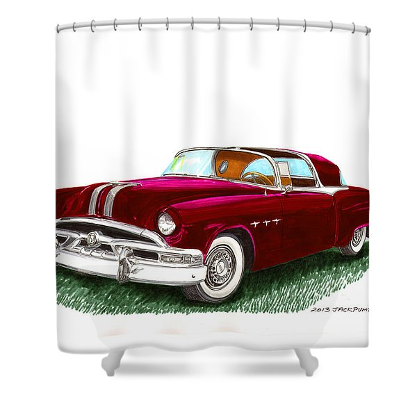 1953 Pontiac Parisienne Concept Shower Curtain by Jack Pumphrey