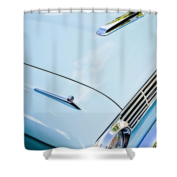 1963 Ford Falcon Futura Convertible Hood Shower Curtain by Jill Reger