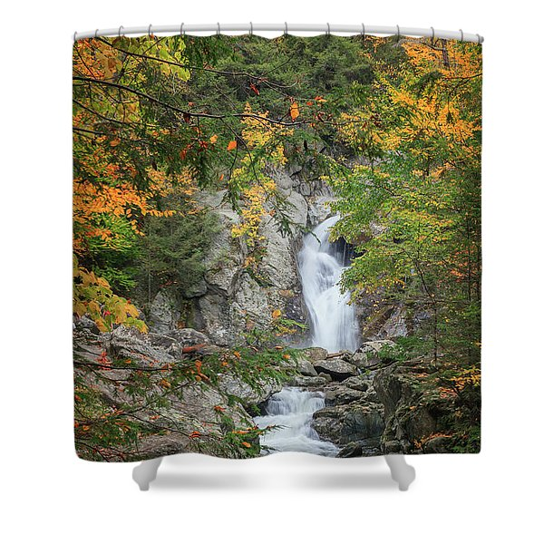 Bash Bish Falls Shower Curtain by Bill  Wakeley