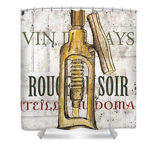 Bordeaux Blanc 1 Shower Curtain by Debbie DeWitt