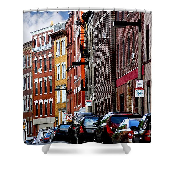 Boston street Shower Curtain by Elena Elisseeva
