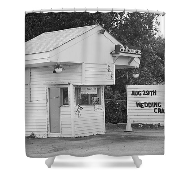 Drive-in Theater Shower Curtain by Frank Romeo