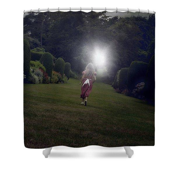escape Shower Curtain by Joana Kruse