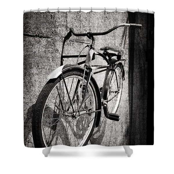 Good Old Days Shower Curtain by Dan Sproul