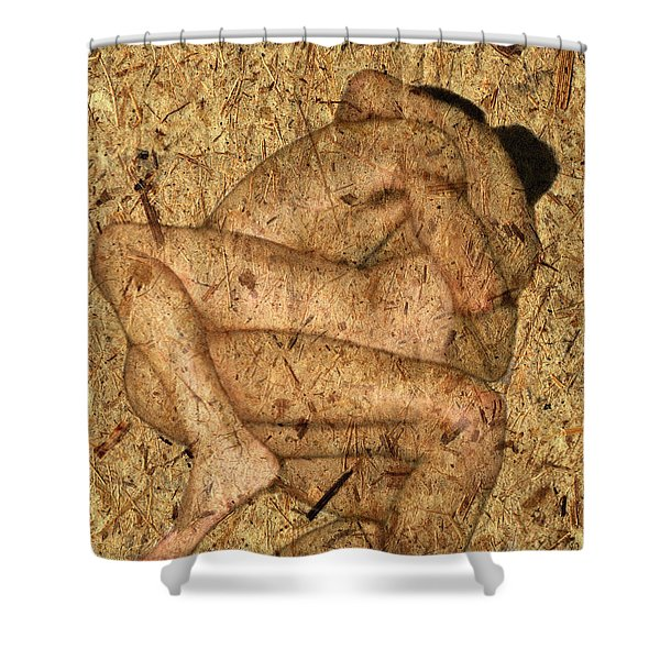 Kuma Sutra Shower Curtain by Kurt Van Wagner