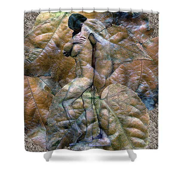 Sheltered Shower Curtain by Kurt Van Wagner