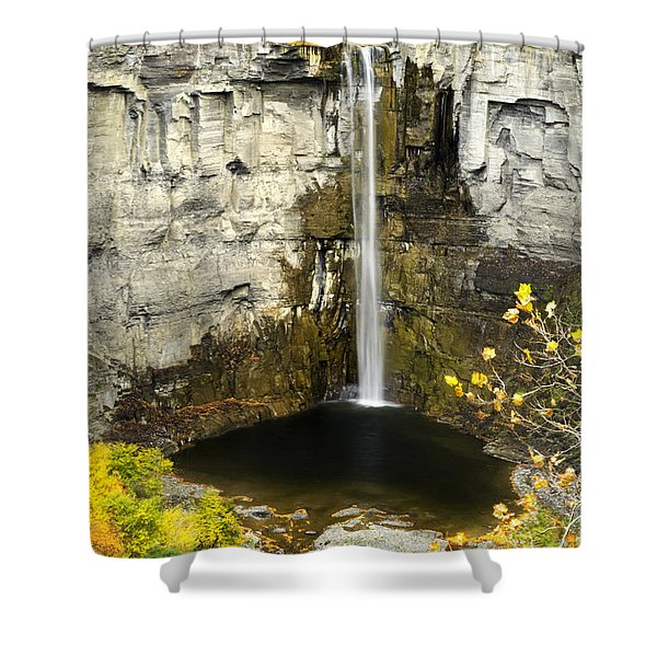 2 Taughannock Falls Shower Curtain by Christina Rollo