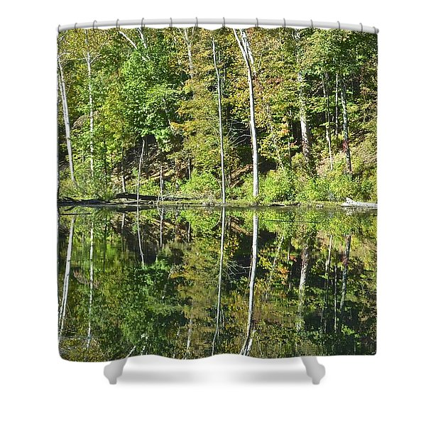 Two of a Kind Shower Curtain by Frozen in Time Fine Art Photography