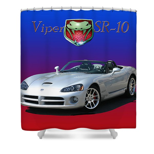 2006 VIPER S R 10 Shower Curtain by Jack Pumphrey