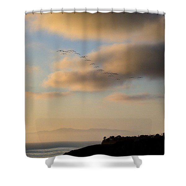 22 Shower Curtain by Joe Schofield