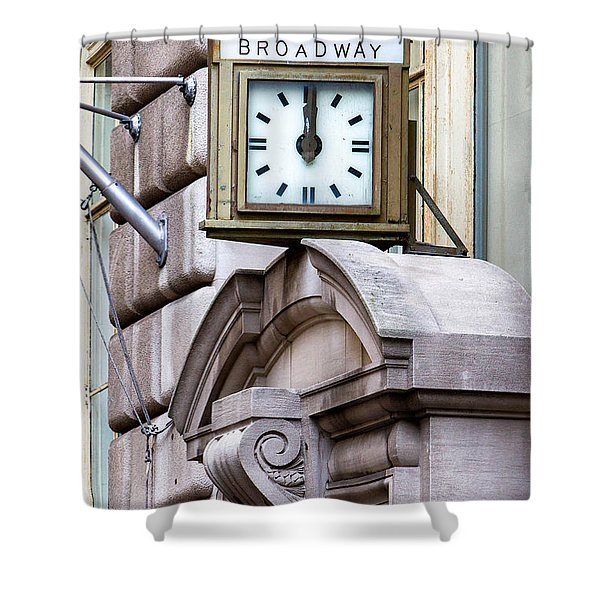 26 Broadway Shower Curtain by Jerry Fornarotto