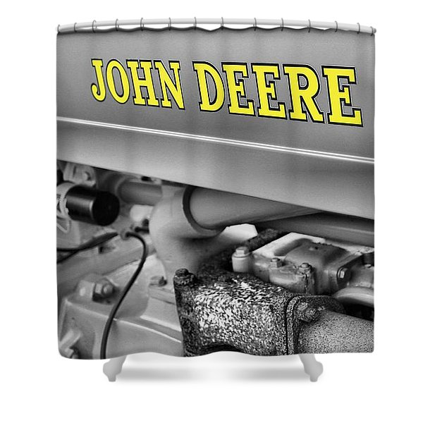 John Deere Shower Curtain by Dan Sproul