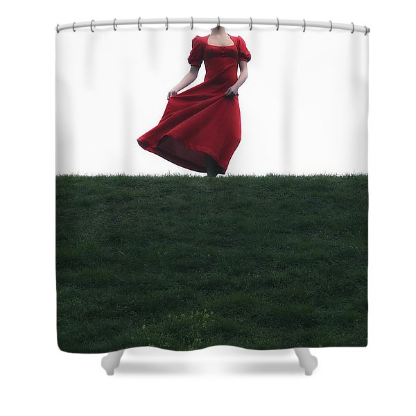 dancing Shower Curtain by Joana Kruse