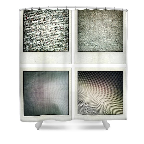 Fabrics Shower Curtain by Les Cunliffe