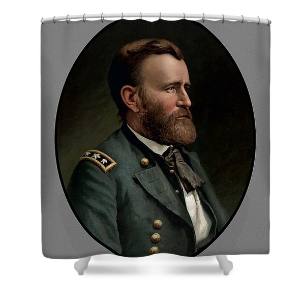 General Grant Shower Curtain by War Is Hell Store