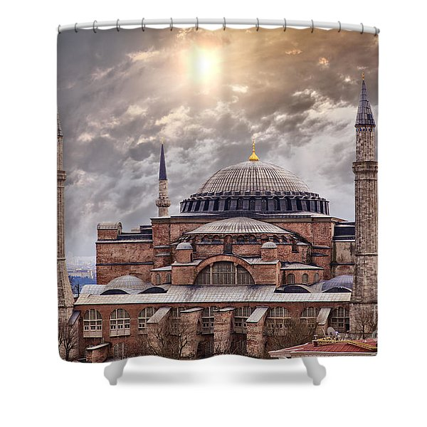 Hagia Sophia Istanbul Shower Curtain by Sophie McAulay