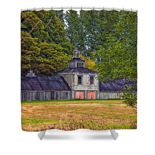 5 Star Barn Shower Curtain by Steve Harrington