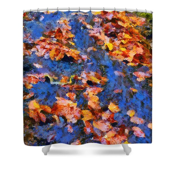 Abruzzo National Park Shower Curtain by George Atsametakis