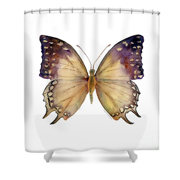 63 Great Nawab Butterfly Shower Curtain by Amy Kirkpatrick
