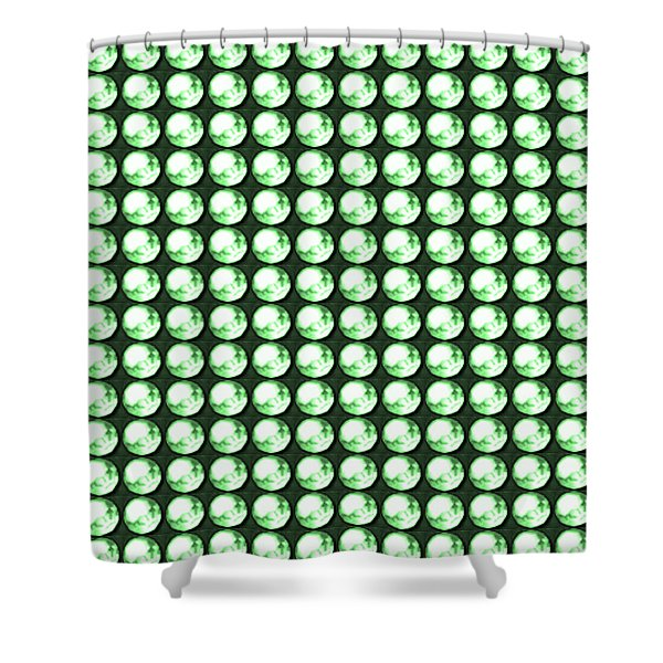 DIY Template Jewels Diamonds Pattern Graphic Sparkle multipurpose art Shower Curtain by NAVIN JOSHI