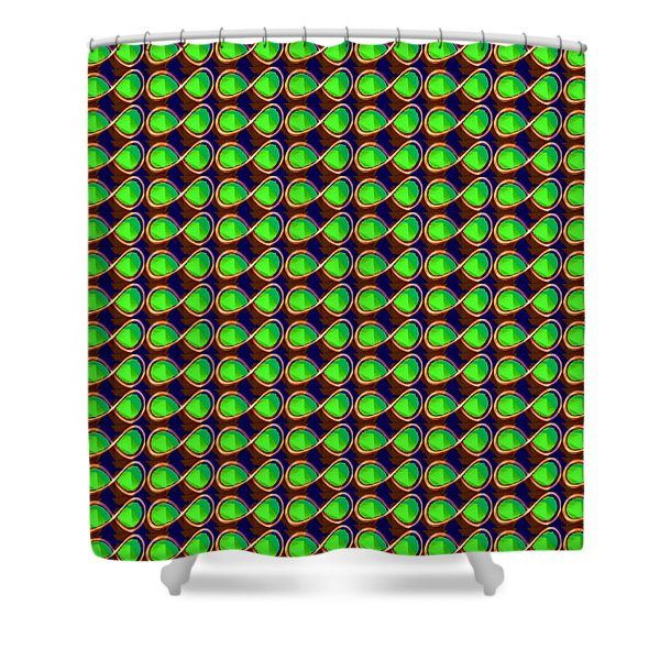INFINITY Infinite SYMBOL Elegant Art and Patterns Shower Curtain by NAVIN JOSHI