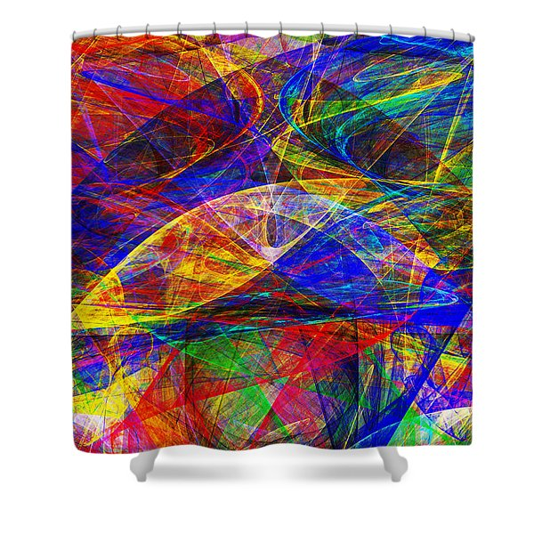 A Cats Dream 20130512 vertical Shower Curtain by Wingsdomain Art and Photography