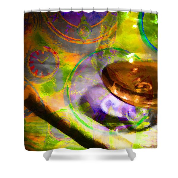 A Cognac Night 20130815p28 Shower Curtain by Wingsdomain Art and Photography