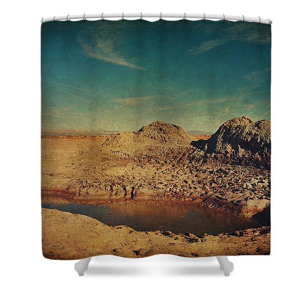 A Far Off Place Shower Curtain by Laurie Search