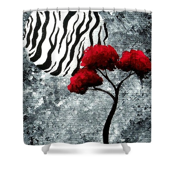 A Love Story No 23 Shower Curtain by Oddball Art Co by Lizzy Love