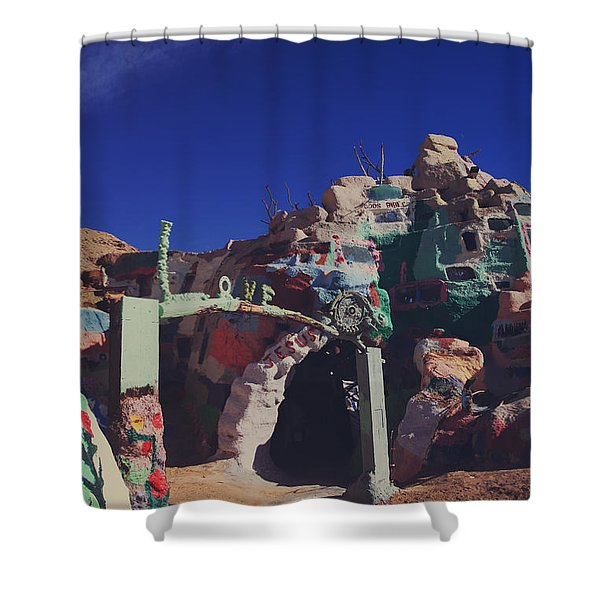 A Loving Entrance Shower Curtain by Laurie Search