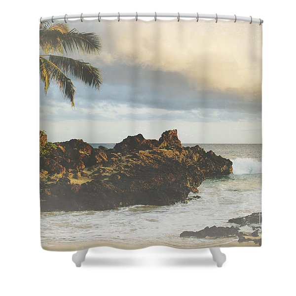 A Perfect Union of Love Shower Curtain by Sharon Mau