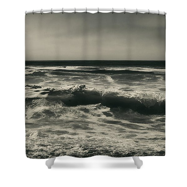 A Permanent Sadness Shower Curtain by Laurie Search