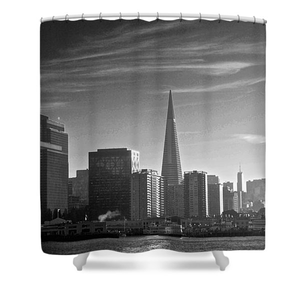 A Place To Leave Your Heart Shower Curtain by Eric Tressler