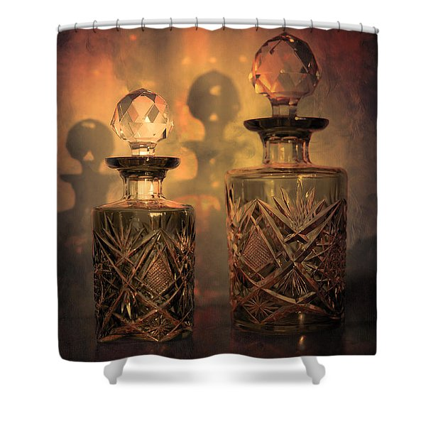 A Play of Light at Dusk Shower Curtain by Loriental Photography