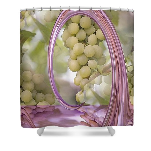 A SPLASH OF PURE GOODNESS Shower Curtain by PainterArtist FIN