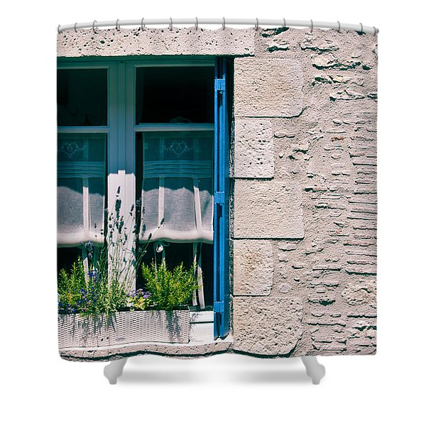A summer in Europe Shower Curtain by Nomad Art And  Design