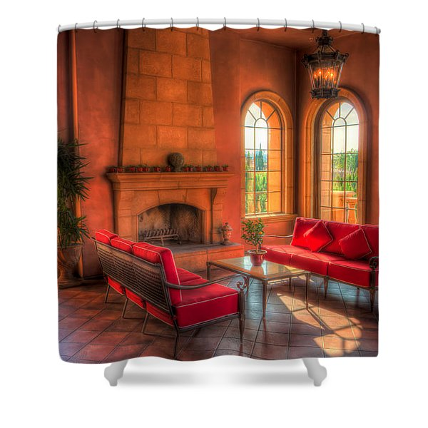 A Taste Of Tuscany Shower Curtain by Heidi Smith