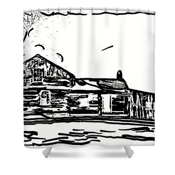 A Winter Dream 3 Shower Curtain by Steve Harrington