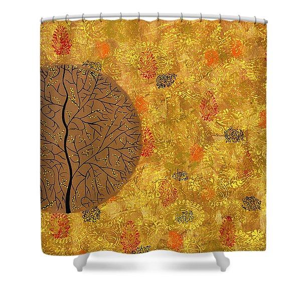 Aaatamvas Shower Curtain by Sumit Mehndiratta
