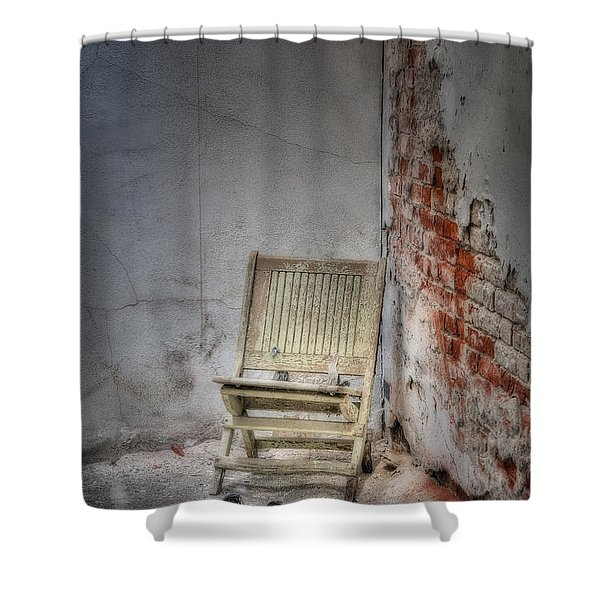 Abandoned But Not Forgotten Shower Curtain by Susan Candelario