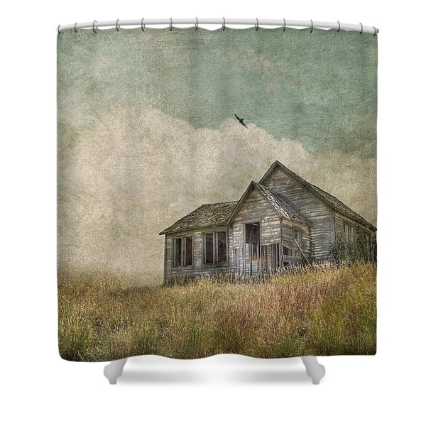 Abandoned Shower Curtain by Juli Scalzi