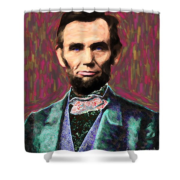 Abe 20130115 Shower Curtain by Wingsdomain Art and Photography