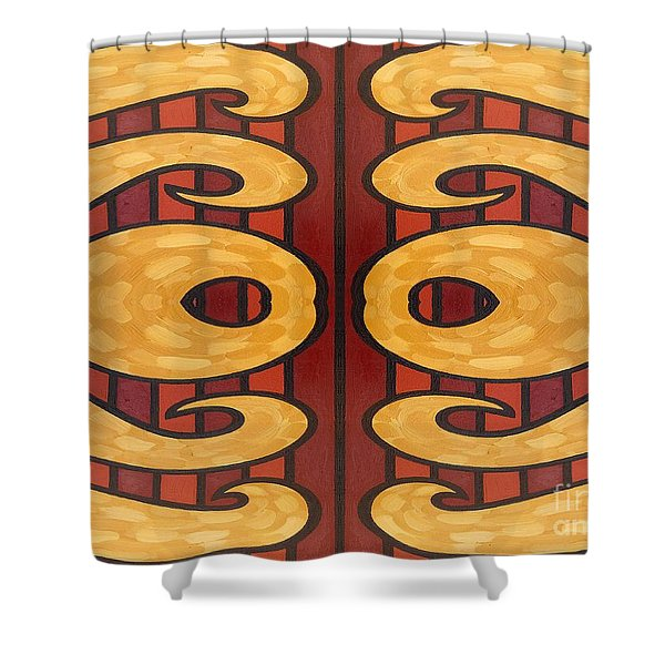 Abstract 66 Shower Curtain by Patrick J Murphy
